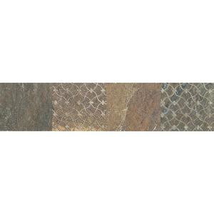 Daltile Ayers Rock Rustic Remnant 3 in. x 13 in. Glazed Porcelain Decorative Accent Floor and Wall Tile-AY05313DECO1P 203719439
