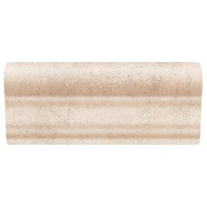 Daltile Briton Bone 2 in. x 6 in. Ceramic Chair Rail Wall Tile-BT0126CRWLCC1P2 202195242