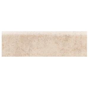 Daltile Briton Bone 3 in. x 12 in. Ceramic Bullnose Floor and Wall Tile-BT01P43C9CC1P2 203213539