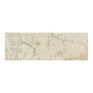 Daltile Canaletto Bianco 3 in. x 13 in. Porcelain Bullnose Floor and Wall Tile-CN01S43E91P1 202655532
