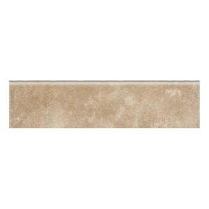 Daltile Catalina Canyon Noce 3 in. x 12 in. Porcelain Bullnose Floor and Wall Tile-LV02P43C9CC1P1 202195313