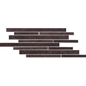 Daltile City View Village Cafe 9 in. x 18 in. x 9-1/2 mm Porcelain Mesh-Mounted Mosaic Floor and Wall Tile (4.36 sq. ft. / case)-CY07918MS1P 202611456