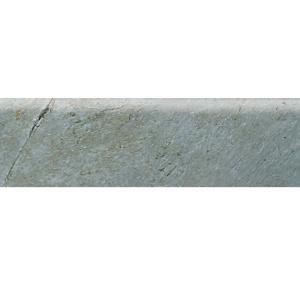 Daltile Franciscan Slate Coastal Azul 3 in. x 12 in. Glazed Porcelain Bullnose Floor and Wall Tile-FS97P43C9S1P1 203719497