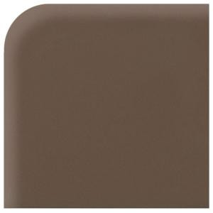 Daltile Matte Artisan Brown 6 in. x 6 in. Ceramic Corner Bullnose Wall Tile-0744SCRL46691P2 202627623