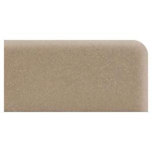 Daltile Rittenhouse Square Elemental Tan 3 in. x 6 in. Ceramic Surface Bullnose Right Corner Tile-0166SCR4369M1P2 202628767