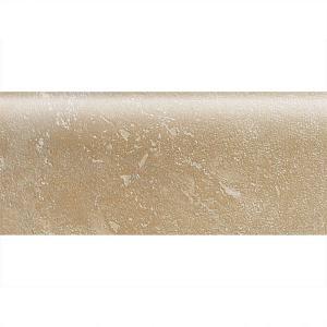 Daltile Sandalo Acacia Beige 2 in. x 6 in. Ceramic Bullnose Wall Tile-SW91S42691P2 203719652