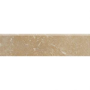 Daltile Sandalo Acacia Beige 3 in. x 12 in. Ceramic Bullnose Wall and Floor Tile-SW91P43C9S1P2 203719651