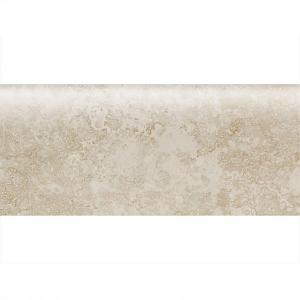 Daltile Sandalo Serene White 3 in. x 9 in. Ceramic Bullnose Wall Tile-SW90S43091P2 203719643