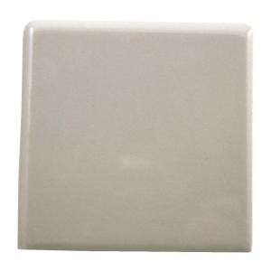 Daltile Semi-Gloss Almond 4-1/4 in. x 4-1/4 in. Ceramic Bullnose Outside Corner Trim Tile-0135SCRL44491P1 100672628