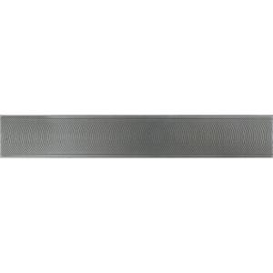 Daltile Urban Metals Stainless 2 in. x 12 in. Composite Spiral Border Trim Floor and Wall Tile-UM01212DECOA1P 202044757