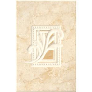 ELIANE Illusione Beige 8 in. x 12 in. Ceramic Insert Wall Tile-161306 202070650