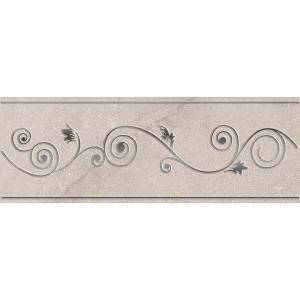 ELIANE Sonoma L-150 Gray 3 in. x 8 in. Ceramic Listello Wall Tile-8031085 206866511