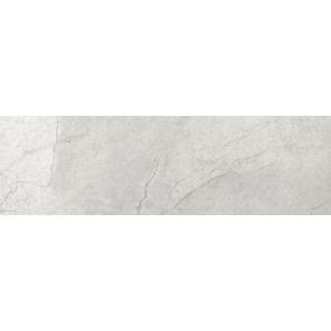 Emser Boca Gray 3 in. x 12 in. Single Bullnose Porcelain Floor and Wall Tile-F14BOCAGR0312SBC 204617836