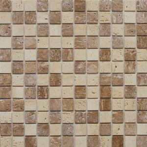 Instant Mosaic 12 in. x 12 in. Peel and Stick Natural Stone Wall Tile-EKB-04-104 204312783