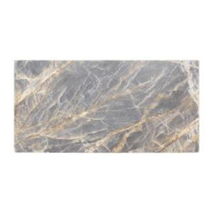 Jeffrey Court Academy Grey 3 in. x 6 in. Marble Wall Tile (8-Pack)-99311 205790807