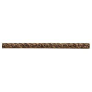 Jeffrey Court Emperador Rope 0.75 in. x 12 in. Resin Accent Trim-99070 202273511