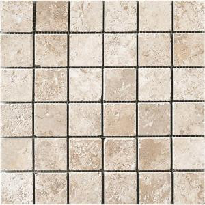 MARAZZI Montagna Lugano 12 in. x 12 in. x 8 mm Porcelain Mosaic Floor and Wall Tile-UGA3 100646395