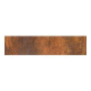 MARAZZI Vanity 3 in. x 12 in. Rust Porcelain Bullnose Floor Tile-UG4N 202072487