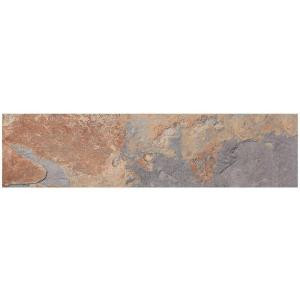 MARAZZI VitaElegante Ardesia 6 in. x 24 in. Porcelain Floor and Wall Tile (14.53 sq. ft. / case)-ULP5 205141249