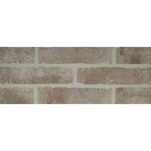 MS International Abbey Brick 2-1/3 in. x 10 in. Glazed Porcelain Floor and Wall Tile (5.17 sq. ft. / case)-NHDABBBRI2X10 205853011