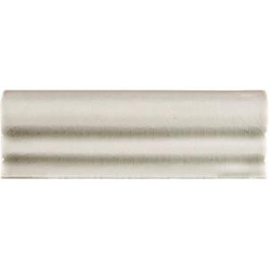MS International Antique White 2 in. x 6 in. Crown Molding Glazed Ceramic Wall Tile-PT-CRWN-AW2X6 204688454