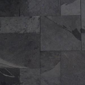 MS International Hampshire Pattern Gauged Slate Floor and Wall Tile (16 sq. ft. / case)-SMONBLK-ASH-3-G 203620857
