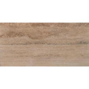 MS International Machu Picchu Vein Cut 12 in. x 24 in. Honed Travertine Floor and Wall Tile (10 sq. ft. / case)-CMACHU1224H 205762438