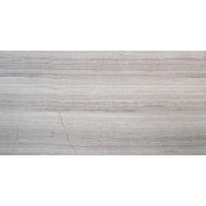 MS International Mare Bianco 12 in. x 24 in. Glazed Polished Porcelain Floor and Wall Tile (16 sq. ft. / case)-NHDMARBIA1224P 204458186