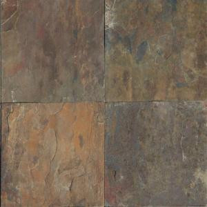 MS International Rustique Earth 12 in. x 12 in. Gauged Slate Floor and Wall Tile (10 sq. ft. / case)-SRUSETH1212 202508381