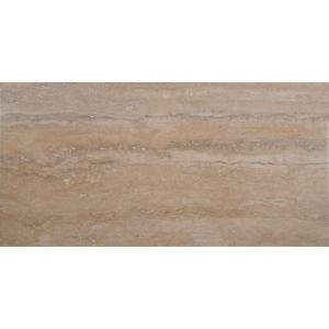 MS International Trevi Beige 12 in. x 24 in. Glazed Porcelain Floor and Wall Tile (16 sq. ft. / case)-NHDTREBEI12X24 205523750
