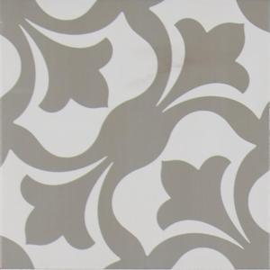 MS International Zara Gray 8 in. x 8 in. Glazed Porcelain Floor and Wall Tile (5.33 sq. ft. / case)-NHDZARAGRE8X8 300197724