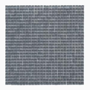 Solistone Atlantis Beluga Dark 11-3/4 in. x 11-3/4 in. x 6.35 mm Glass Mesh-Mounted Mosaic Floor and Wall Tile (9.58 sq.ft./case)-9150f 205050803