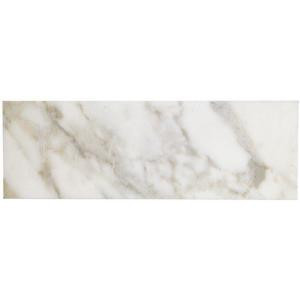 Splashback Tile Calacatta Gold 6 in. x 18 in. x 10 mm Polished Marble Mosaic Tile-HD-CLACTA6X18 206641652