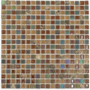 Splashback Tile Capriccio Chioggia 12 in. x 12 in. x 4 mm Glass Floor and Wall Tile-CAPRICCIO CHIOGGIA GLASS TILE 204279042