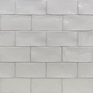 Splashback Tile Catalina Gris 3 in. x 6 in. x 8 mm Ceramic and Wall Subway Tile-CATALINA3X6GRIS 206496897