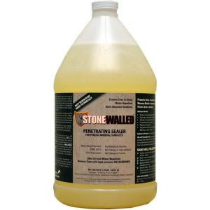 Stonewalled 1 Gal. Penetrating Stone and Grout Sealer-STNW128 204667240