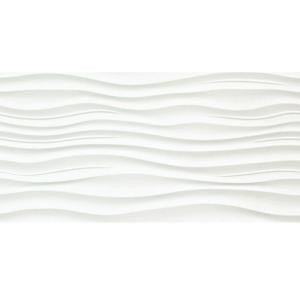Surface Ripple White 12 in. x 24 in. Porcelain Wall Tile (15.36 sq. ft. / case)-1239700 205809353