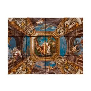 Tile My Style Vatican 24 in. x 18 in. Tumbled Marble Tiles (3 sq. ft. /case)-TMS0008M1 203457828