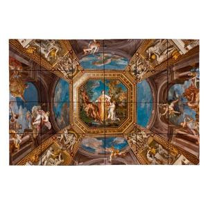 Tile My Style Vatican 36 in. x 24 in. Tumbled Marble Tiles (6 sq. ft. /case)-TMS0008M3 203457830