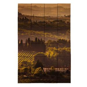 Tile My Style Vineyard1 24 in. x 36 in. Tumbled Marble Tiles (6 sq. ft. /case)-TMS0001M4 203450838