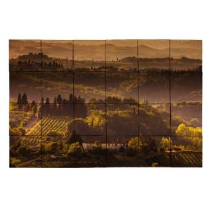 Tile My Style Vineyard1 36 in. x 24 in. Tumbled Marble Tiles (6 sq. ft. /case)-TMS0001M3 203455151