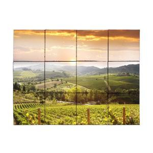 Tile My Style Vineyard5 24 in. x 18 in. Tumbled Marble Tiles (3 sq. ft. /case)-TMS0005M1 203457816