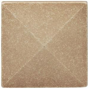 Weybridge 2 in x 2 in. Cast Stone Pyramid Dot Travertine Tile (10 pieces / case)-SD100-01HD 203381233