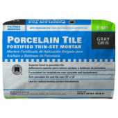 Custom Building Products Porcelain Tile Gray 50 lb. Fortified Thin-Set Mortar-PMG50 202753992