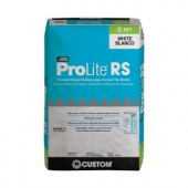 Custom Building Products ProLite White 30 lb. Rapid Setting Tile and Stone Mortar-PLRSW30 204813246