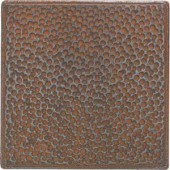 Daltile Castle Metals 4-1/4 in. x 4-1/4 in. Wrought Iron Metal Hammered Insert Wall Tile-CM0244DECOB1P 202044735