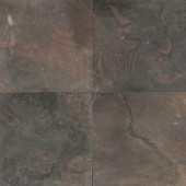 Daltile Natural Stone Collection Indian Multicolor 16 in. x 16 in. Slate Floor and Wall Tile (10.68 sq. ft. / case)-S77116161P 202646836