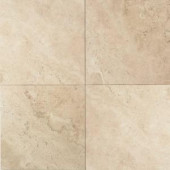 Daltile Travertine Baja Cream 16 in. x 16 in. Natural Stone Floor and Wall Tile (10.32 sq. ft. / case)-T72016161U 202646855