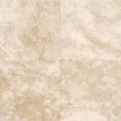 Daltile Travertine Torreo 16 in. x 16 in. Honed Natural Stone Floor and Wall Tile (10.68 sq. ft. / case)-T71116161U 202646848