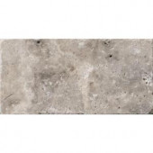Emser Trav Ancient Tumb Silver 16 in. x 24 in. Travertine Floor or Wall Tile-1077675 205749243